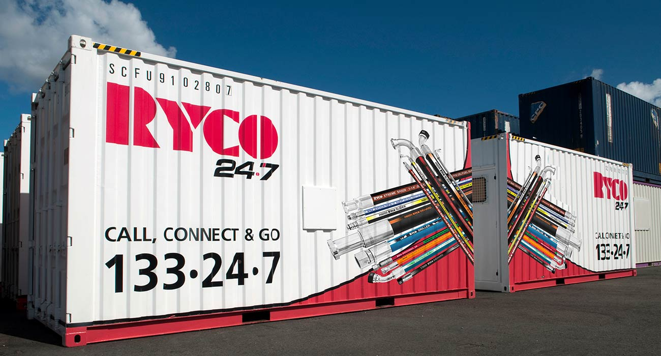 RYCO 24•7 On-site Container Service Workshop NZ